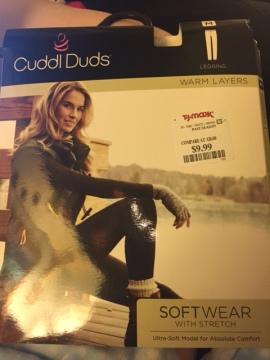Packaging for the leggings